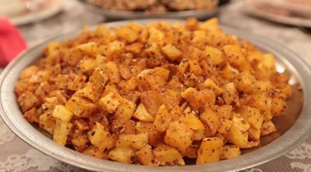 Nursel'in Mutfağı Kişnişli Patates Tarifi 11.07.2015