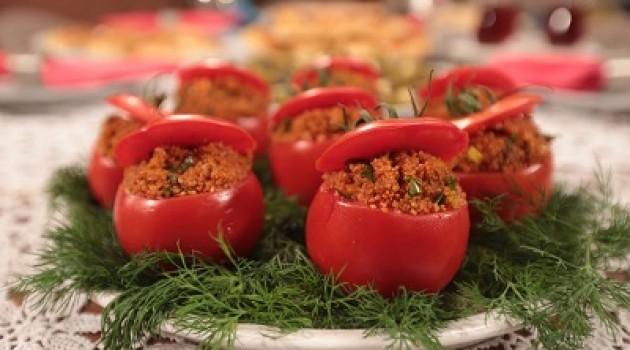 Nursel'in Mutfağı Domates Çanağında Kısır Tarifi 05.10.2015