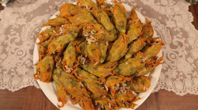 Nursel'in Mutfağı Kabak Çiçeği Dolması Tarifi 28.05.2015