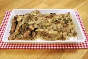 TV8 Arda'nın Mutfağı Kremalı Mantarlı Et Tarifi 30.05.2015