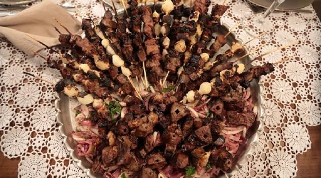 Nursel'in Mutfağı Mangalda Ciğer Kebabı Tarifi 01.05.2015
