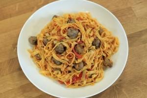Arda'nın Mutfağı Sebzeli Makarna Tarifi 07.11.2015