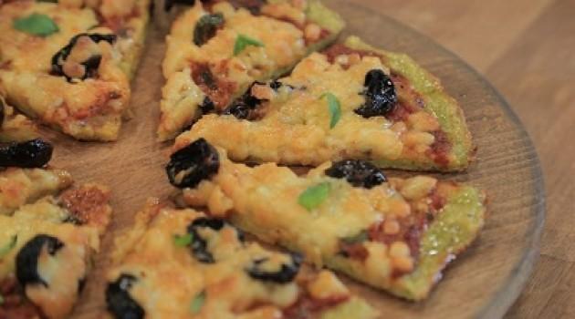 Arda'nın Mutfağı Yeşil Tabanlı Pizza Tarifi 18.10.2015