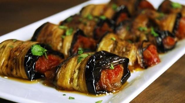 Arda'nın Ramazan Mutfağı Zeytinyağlı Patlıcan Ruloları Tarifi 06.07.2015