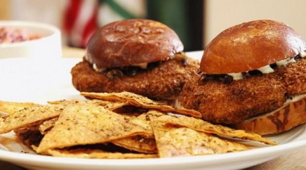 Arda'nın Mutfağı Çıtır Tavuk Burger Tarifi 22.03.2015