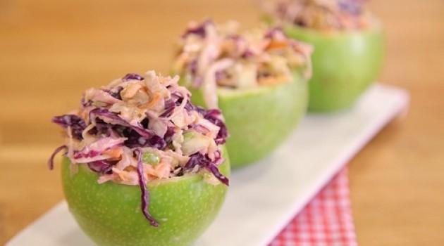 Arda'nın Mutfağı Yeşil Çanaklı Salata Tarifi 08.03.2015