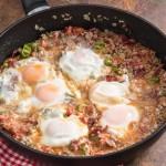 Arda'nın Ramazan Mutfağı Kıymalı Pastırmalı Yumurta Tarifi 16.04.2021