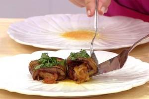 Gelinim Mutfakta Zeytinyağlı Patlıcan Ruloları Tarifi 26.05.2021
