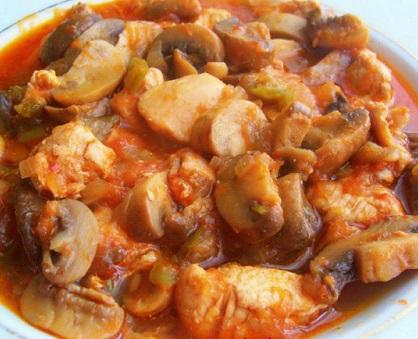 Tavuklu Mantarlı Yemekler Tavuklu-mantar-sote-tarifi