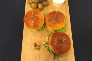 Ver Fırına Oğuzcan Uğuz Toprak'ın Tombiş Şef Burger Tarifi 19.02.2015