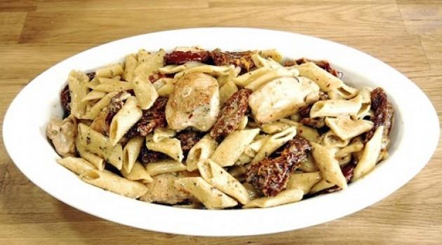 Arda'nın Mutfağı Kuru Domatesli Tavuklu Makarna Tarifi 14.03.2015