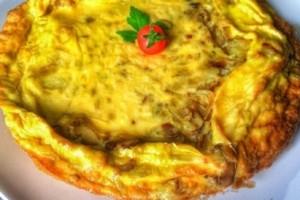Fırında Patatesli Omlet Tarifi