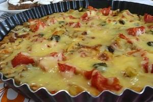 Yeşil Elma Patates Pizzası Tarifi 10.04.2015