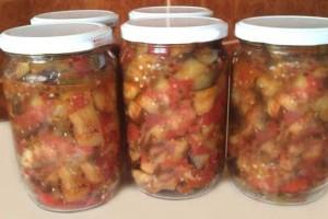 Kışlık Patlıcan Konservesi Tarifi