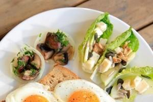 Arda'nın Mutfağı Mantarlı Yumurta ve Elmalı Salata Tarifi 06.02.2016