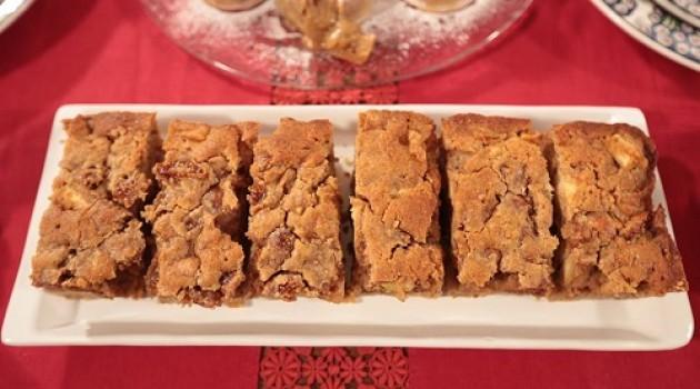 Nursel'in Mutfağı Çay Saati Menüsü'nden Cevizli İncirli Elmalı Kek Tarifi 28.03.2016