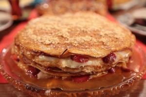Nursel'in Mutfağı Çay Saati Menüsünden Krep Pasta Tarifi 25.04.2016