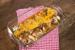Arda'nın Mutfağı Jambonlu Peynirli Fırın Tavuk Tarifi 24.09.2016