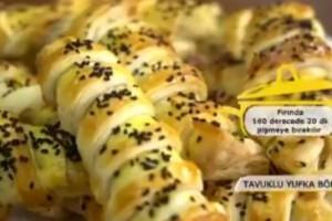 Pelin Karahan'la Nefis Tarifler Tavuklu Börek Tarifi 18.12.2017