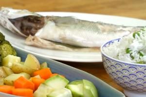 Arda'nın Mutfağı Buharda Sebzeli Levrek Tarifi