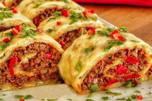 Gelinim Mutfakta Kıymalı Rulo Patates Tarifi 15.04.2020
