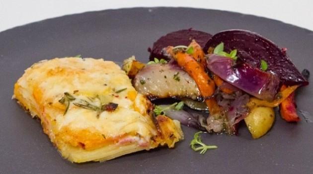 Hazer Amani İle Mutfakta Buluşalım Patates Graten ve Fırında Kök Sebzeler Tarifi 14.10.2020