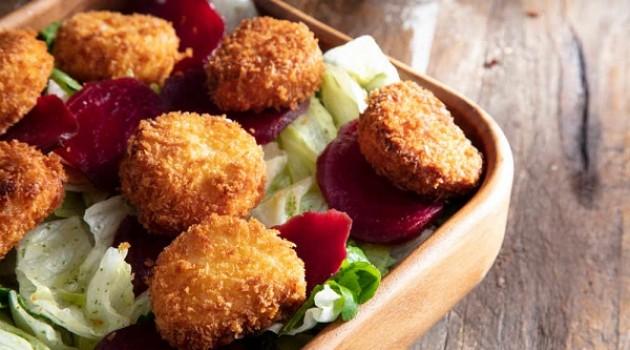 Arda'nın Mutfağı Çıtır Peynirli ve Pancarlı Yeşil Salata Tarifi 30.01.2021