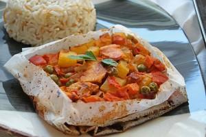Gelinim Mutfakta Tavuklu Kağıt Kebabı Tarifi 05.01.2021