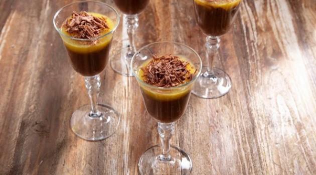 Arda'nın Mutfağı Portakal Pelteli Çikolatalı Puding Tarifi 27.02.2021