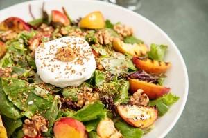 Arda'nın Mutfağı Şeftalili Keçi Peynirli Salata Tarifi 29.05.2021