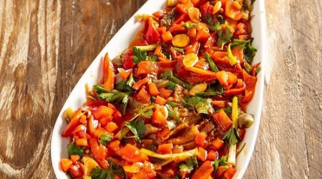 Arda'nın Mutfağı Köz Patlıcan Salatası Tarifi 02.10.2021