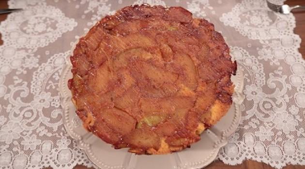 Nursel'in Mutfağı Elmalı Ters Yüz Kek Tarifi  03.11.2015