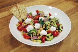 Tv8 Arda'nın Mutfağı Keçi Peynirli Nohut Salatası Tarifi 09.05.2015