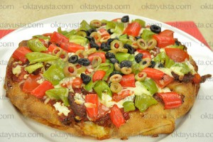 Yeşil Elma Ramazan Pizzası Tarifi 22.06.2015