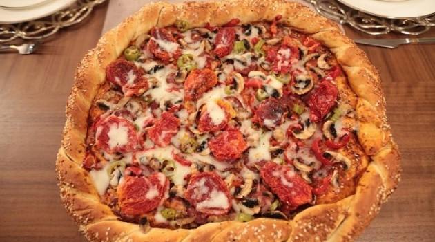 Nursel'in Mutfağı Simit Pizza Tarifi 04.05.2015