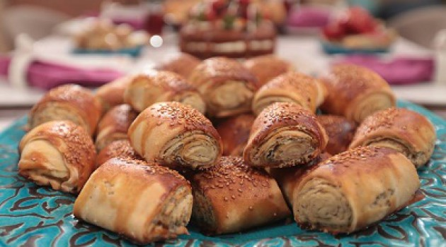 Nursel'in Mutfağı Tahinli Çörek Tarifi 12.10.2015